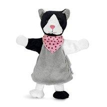 Sterntaler Hand Puppet Cat, 28 x 25 x 8 cm, Grey