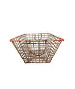 Vintage Oyster Basket wire basket - $79.00