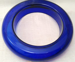 Cobalt Glass Posy / Pansy Ring Vase VERY RARE! image 8