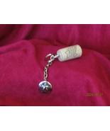 "WINE STOP KEY HOLDER w/.75"" diameter ring & SAND DOLLAR CHARM (jewelBB) - $4.50"