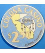 $2.50 Casino Chip. Colusa Casino, Colusa, CA. V34. - $4.99