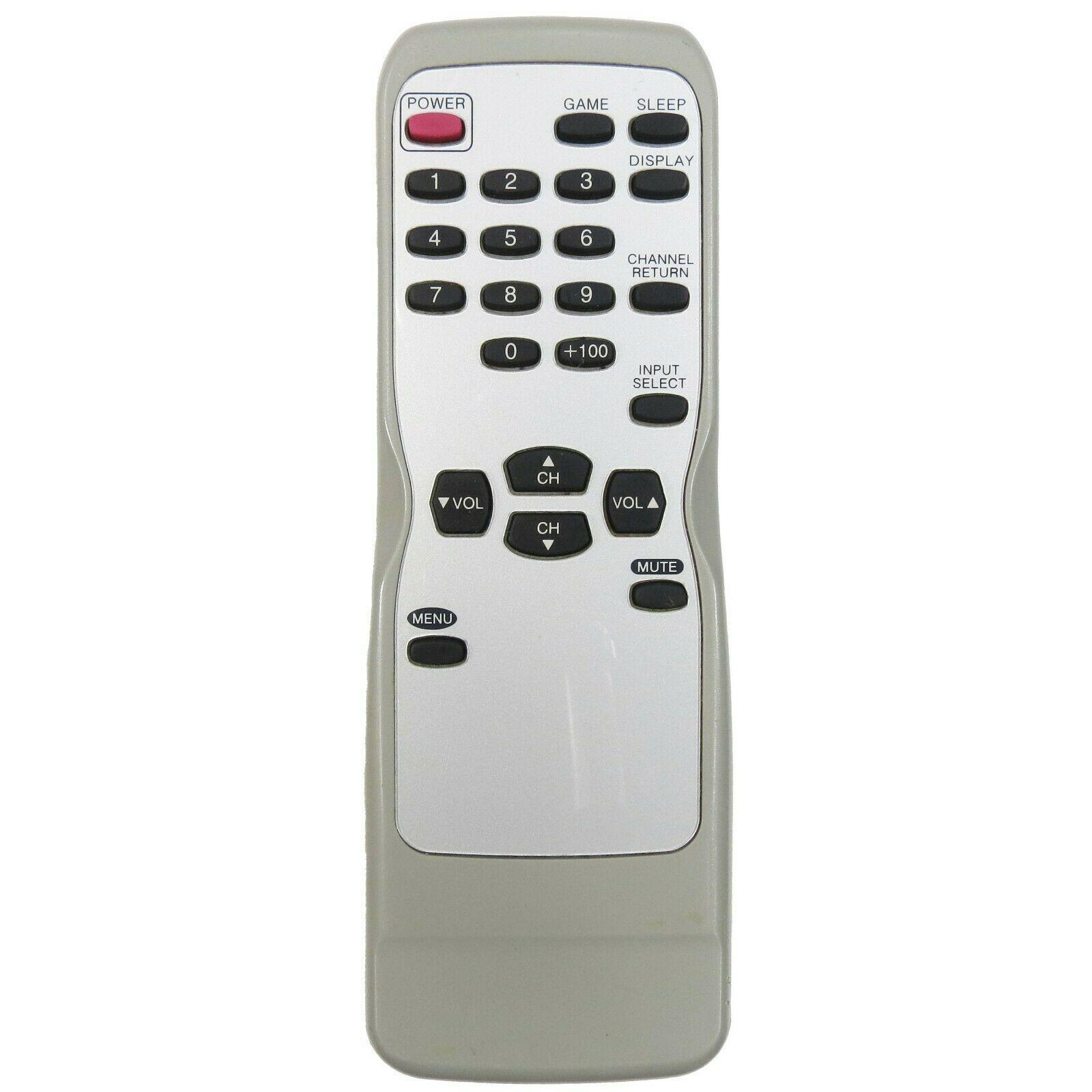 Emerson NE116UE *MISSING BATTERY COVER *TV Remote EWF2002, EWF2004, EWF2705 - $16.35