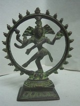 Figure statue figurine in bronze Goddess with 4 arms - $51.08