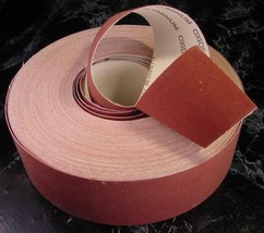 "2"" X 300 Ft SAND PAPER SHOP ROLL 240 GRIT sandpaper Made in USA lathe sh... - $49.99"