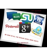 I'll promote 6 items for 30 days on Social Media Outlets - $30.00
