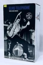 VINTAGE IN BOX 1996 Telemania Elvis Presley Singing Dancing Telephone - $128.69