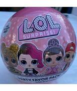NEW LOL Surprise Party Favor Pack, 1 Count Includes Sticker, Necklace, L... - $10.90