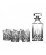 Royal Doulton Decanter Set-DECANTER-4 Doppio Old Fashion Nuovo - $99.04