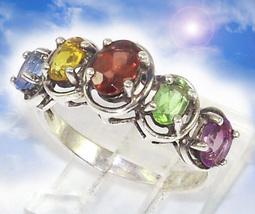 HAUNTED RING 8000X RAINBOW SHIELD END LIMITS MAGICK ILLUMINATED WORLD CASSIA4 - $377.77