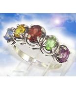 HAUNTED RING 8000X RAINBOW SHIELD END LIMITS MAGICK ILLUMINATED WORLD CA... - $377.77