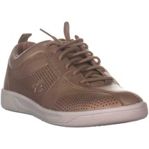 Easy Spirit Freney Lace Up Fashion Sneakers, Gold, 8 US - $45.77 CAD