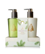 Thymes Frasier Fir Hand Wash and Lotion Sink Set  8.25oz ea With Ceramic... - $46.00
