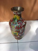 Vintage Chinese Cloisonne Decorative Vase - $225.00