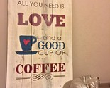 ALL YOU NEED IS LOVE & A GOOD CUP PF COFFEE