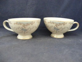 2 Imperial China W. Dalton Seville Japan Coffe or Tea Cups - $15.00