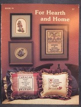 Stoney Creek Book 4 FOR HEARTH AND HOME Counted Cross Stitch Pattern Col... - $5.00