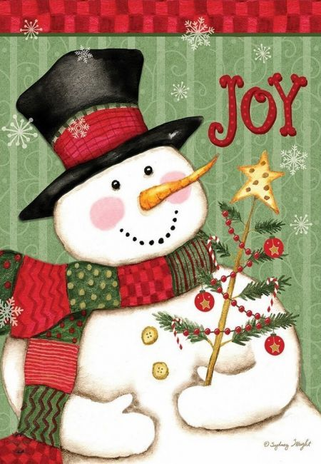 Primary image for 7151 Snowman Joy Garden Flag