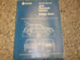 1978 DODGE OMNI PLYMOUTH HORIZON Service Shop Repair Manual ADVANCED EDI... - $7.55