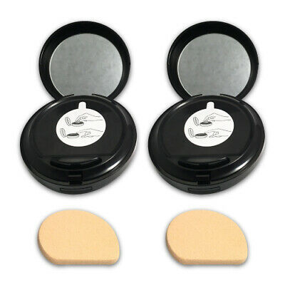 Primary image for Estee Lauder Double Wear Makeup To Go Liquid Compact -2C2 Pale Almond-LOT OF 2