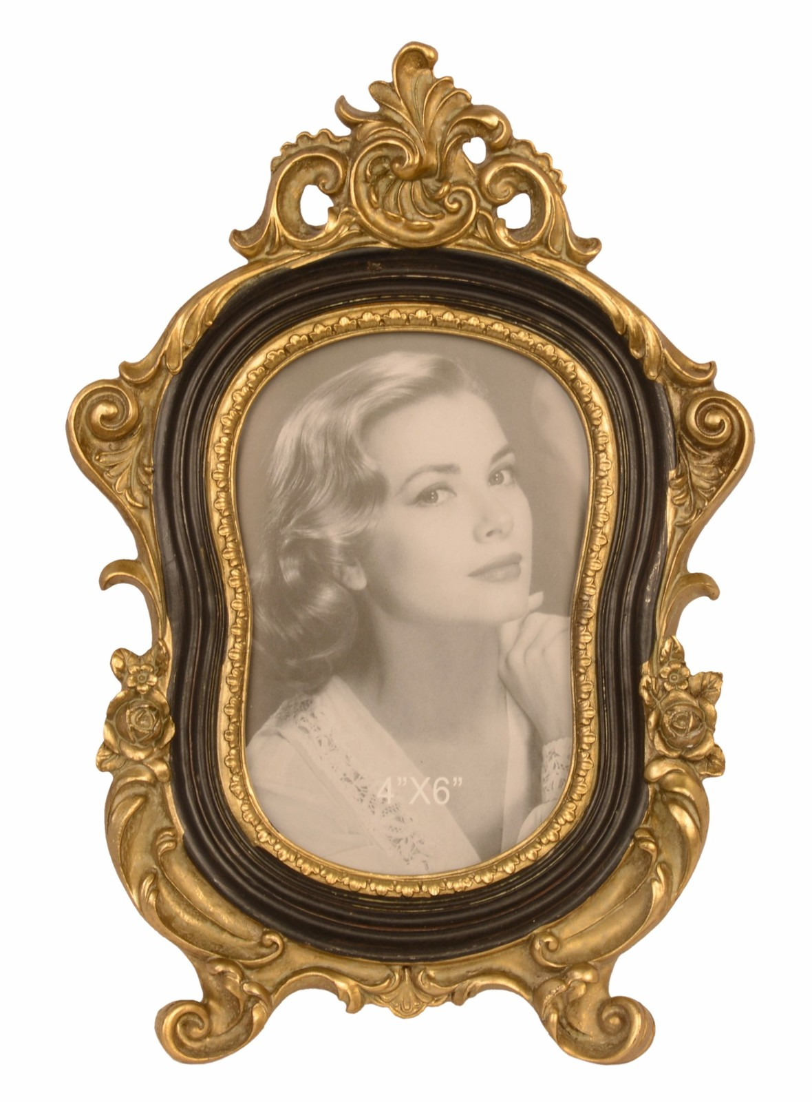 Vintage Frame, Retro Picture, Wedding Photo Frame, Rustic Frame, antique decor