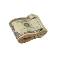 PROP MOVIE MONEY - New Series $20 Full Print Aged Prop Money Fold - $19.00
