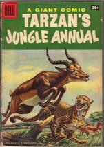 Tarzan's Jungle Annual Comic Book #5 Dell Comics 1956 VERY GOOD - $20.24