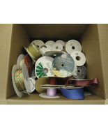 Designer Box (18in x 16in x 16in) of Ribbons Multicolor Various Sizes & ... - $70.16