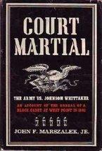 Court-martial;: A black man in America Marszalek, John F