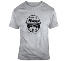 Mountain Hiking Shirt Sayings Nature Outdoors Woods Camping Gift T Shirt - $22.49+