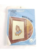 "Paragon Needlecraft Praying Hands Kit #0767 Vintage 1978 7""x9"" Adele Ver... - $19.79"