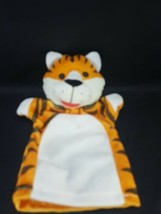 Melissa And Doug Tiger Cat Lion Jungle Stuffed Animal Hand Puppet  - $10.88