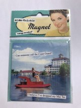New Ann Taintor Vintage Revisited Fridge Magnet Cast Guard dropped my Ma... - $11.08
