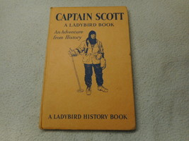 Vintage 1963 Lady Bird Book Captain Scott Series 561 - $8.35
