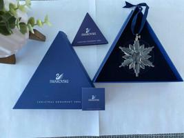 Swarovski 2006 Annual Christmas Crystal Snowflake Ornament Ltd Edition - $93.49
