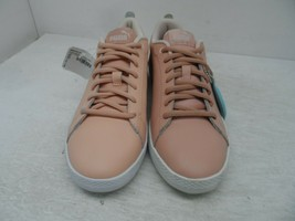PUMA Women's Smash v2 Athletic Leather Casual Shoes Pink Size 7M - $47.49