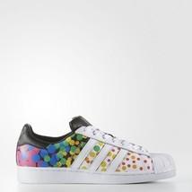 Adidas Originals Men's Superstar Pride Pack Shoes Size 9 Us CM7802 Last Pair - $128.67