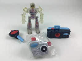 Spy Kids Mcdonalds Game Over Robot and Tools Squirt Toy 4pc Lot Toys Miramax - $13.32