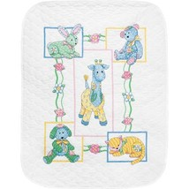 73067 Simplicity Baby's Friends Quilt w/ Cotton Thread, Counted Cross Stitch New - $77.26