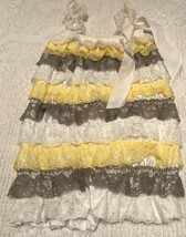 Unbranded Baby Girls Layered Lace Size M (6 Months) 1 Pc. Outfit - $9.50
