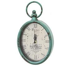 Stratton Home Décor Stratton Home Decor SHD0008 Antique Oval Clock, 6.75 W X 2.0