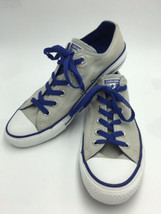 Converse Chuck Taylor All Star M 8 W 10 Gray Blue Canvas Sneakers Shoes - $21.99