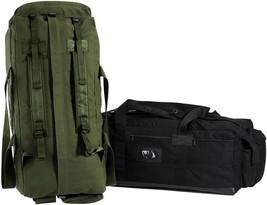 Israeli Military Mossad Tactical Duffle Bag Double Strap Backpack - $92.51