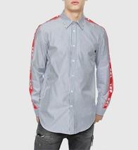 Diesel Men S-Nori 00SQ0R Long Sleeve Shirt Blue Size S - $78.27