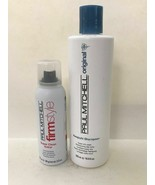Paul Mitchell Awapuhi Shampoo 16.9oz & Firm Super Clean Extra 3.5oz Duo - $24.74