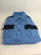 NEW Elbeco Guard Officer Uniform Shirt Size 32 Blue Long Sleeve - $14.99