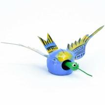 Oaxacan Alebrijes Folk Art Humming Bird Hummingbird Bobble Head Figure image 1