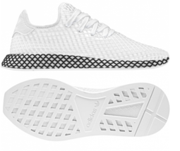 Adidas Deerupt Runner Size 12 M (D) EU 46 2/3 Men's Running Shoes White ... - $57.77