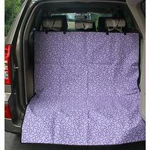 PANDA SUPERSTORE Waterproof Pet Car Seat Cover Dog Travel Mat for SUV Trunk, Pur