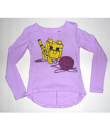 Minecraft girls Long Sleeve T Shirt Baby Ocelot and Yarn Sizes-4-5 ,6-6X... - $9.09