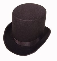 Jacobson Hat Company 16362 Medium Brown Coachman Costume Top Hat Victori... - €14,98 EUR